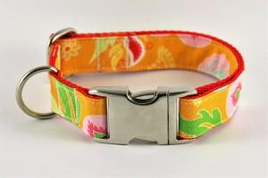 Hundehalsband Dschungel handgefertigt