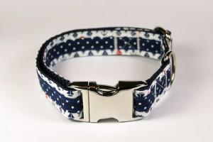 Hundehalsband Maritim handgefertigt
