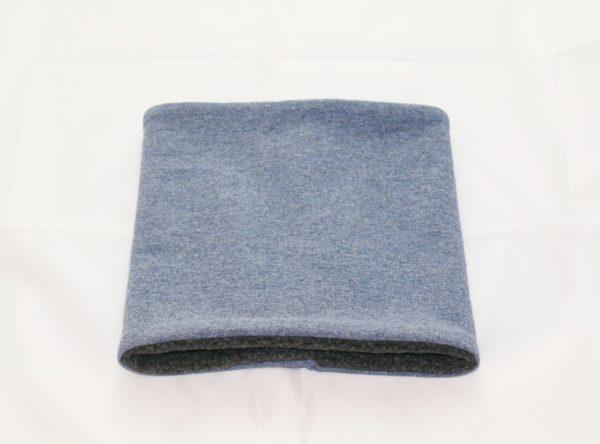 Loop-Schal hellblau Jeansoptik ein wärmendes Accessoires