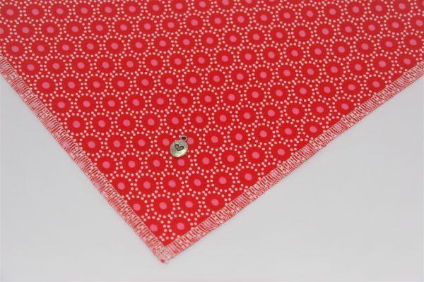 Wählen Sie Ihren Lieblingsanhänger für das Hundehalstuch Circle rot