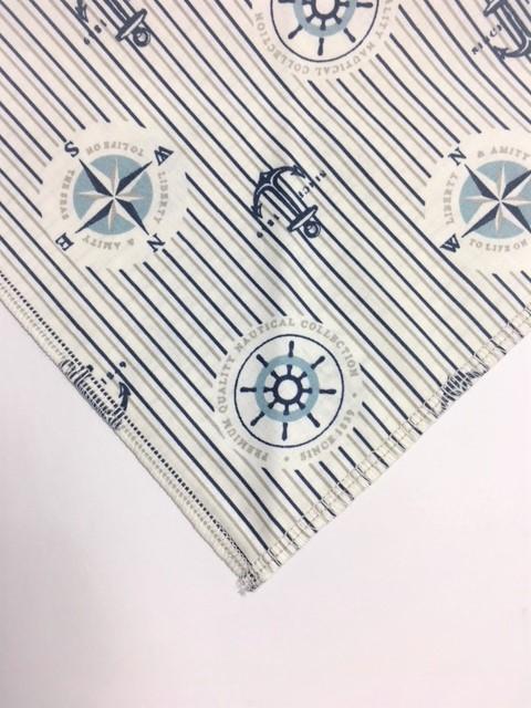 Tolle Baumwollstoffe wurden für die Halstücher verarbeitet